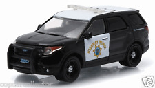 Greenlight 1/64 CHP California Highway Patrol Police SUV Black & White EXCLUSIVE