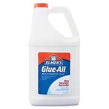 Elmer's Glue-All 1 Gallon Multi-Purpose Washable Glue Elmer White Dries Clear