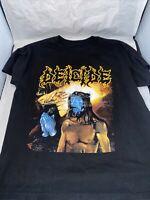 Deicide Serpents Of The Light Band T Shirt Mens L Vintage Vtg Metal Grunge