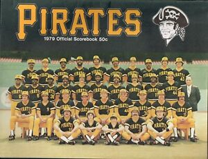 1979 Pittsburgh Pirates Official Scorebook - WILLIE STARGELL