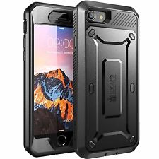 Apple iPhone 8 Case Dual Layer Cover Built In Screen Protector Super Tough