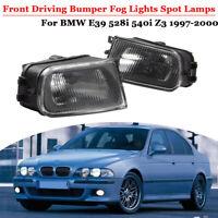Paar Nebelscheinwerfer Gehäuse Abdeckung Für BMW Z3 97-01 E39 5 Serise 1997-2000
