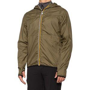 Killtec Whitley Rain Jacket Men's Size M Olive Full-Zip