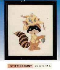 """PRECIOUS MOMENTS """"FISHING FOR FRIENDS  - CROSS STITCH PATTERN ONLY  HM SYE"""