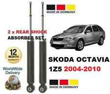SKODA OCTAVIA 2005-2012 1.2 1.4 1.6 1.8 1.9  NEW 2x REAR SHOCKS ABSORBER SET
