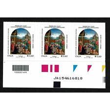 REP0346 - 2012 Natale Religioso Codice a Barre SX + Alfanumerico