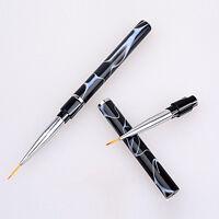 1 Pcs Nail Art Design Set Dotting Painting Drawing Polish Brush Pen Tool Set
