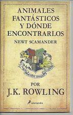 Animales Fantasticos Y Donde Encontrarlos Newt Scamander JK Rowling Harry Potter