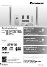 every instruction manual ebay stores rh ebay com Panasonic AV Receiver Panasonic AV Receiver
