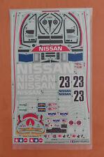RC Tamiya Decal Nissan R91CP 58109 NEU NIB 1992