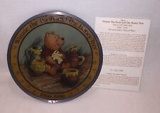~Disney Winnie the Pooh & the Homey Tree Stained Glass Numbered Limited Edition