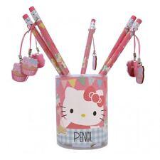 HELLO KITTY - Pencil & Dangler - Tea Party Stationary