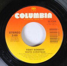Christmas 45 Tony Bennett - White Christmas / All Of My Life On Columbia