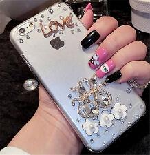 Glitter Luxury Bling Diamonds Crystal hard Back PC Case Cover Skin For  LG-4