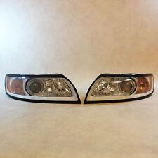 GENUINE Volvo S40 Headlight lamp SET RH & LH LHD Facelift OEM 31299583 31299584