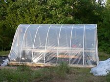 2 Pack Agfabric® 2.4Mil Greenhouse Clear Plastic Film  Polyethylene Covering