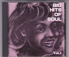 Big Hits of Soul album vol.1-cd - Made in Japan/Diana Ross & Supremes/Temptations/