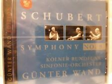 SCHUBERT SYMPHONY NO.9 GREAT GUNTHER WAND CD NEW KOLNER RUNDFUNK SINFORNIE ORCH