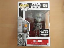 Funko POP! Star Wars IG-88 Smuggler´s Bounty Exclusive NEU/ungeöffnet!