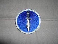WW2 1st SSF Kiska defense royal blue white border color variation