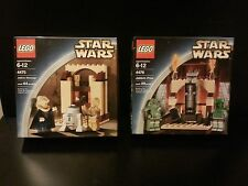 LEGO Star Wars JABBA'S MESSAGE + PRIZE 4475 4476 Sealed Very Rare Sets Jabba