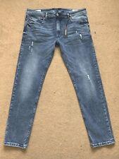 "Diesel Men's Thommer-C Stretch Slim-Skinny Blue Jeans, Size W36"", 32"", RRP£160"