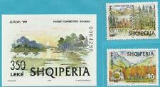 Albanien aus 1999 ** postfrisch MiNr. 2690-2691 + Block 118 - Europa: Natur!