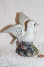 Vintage white dove porcelain figurine Crown Royal