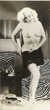 Org Vintage 40s-50s Chair Sépia Rp- Knock Out Blond- Takes Off Panties-