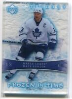 2007-08 Upper Deck Trilogy 113 Mats Sundin 686/799 Frozen In Time