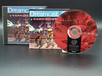 Quake III Arena | Sega Dreamcast | Anleitung | getestet | Quake 3 Arena