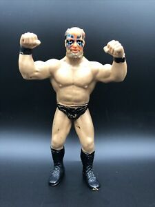 WWF WWE LJN Series 6 Black Card Warlord 1989