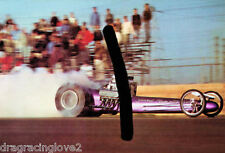 """""""Yeakel Plymouth Special"""" 1960s era """"SlingShot"""" Top Fuel Dragster PHOTO!"""