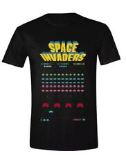 Taito Space Invaders Tee Shirt. Mens Xl. Unisex. Gaming Tee. Midway.