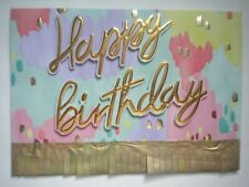 """C.R.Gibson ~ EMBELLISHED 3D """"HAPPY BIRTHDAY"""" GREETING CARD + ENVELOPE"""