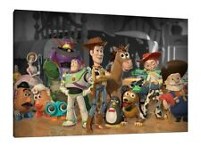 Toy Story 30X20 Inch Canvas - Disney Framed Picture Print