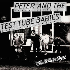 PETER & THE TEST TUBE BABIES RUN LIKE HELL 7 (black wax)