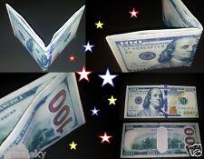 New design $100 bill bi-fold wallet canvas Benjy wallet strong!