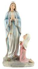 """Veronese Resin Our Lady Mary of Lourdes Grotto Statue Studio Collection 8 1/2"""""""