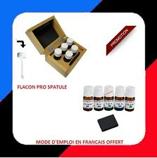 5 test testeur à tester l'or 9 14 18 20 24 argent pierre de touche gold coffret