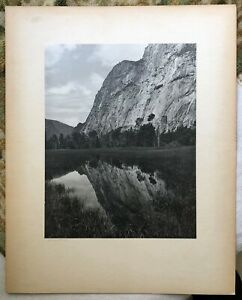 "1940s' Silver Gelatin Print ""Reflection"" by Calif. Photographer Claxton Searle"