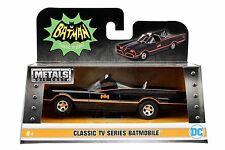 JADA 98225 CLASSIC TV SERIES BATMAN 1966 BATMOBILE 1:32 DIECAST MODEL CAR BLACK