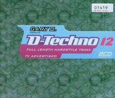 D-Techno 12 (2005) Prophet, DJ Zany, Miss Hiroko, Zatox, Space Invaders.. [3 CD]