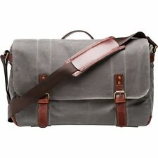ONA - UNION STREET – SMOKE - PREMIUM MESSENGER BAG - Waxed Canvas W/ Slik Tripod