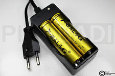 .CHARGEUR RX-77 + 2 PILES ACCU RECHARGEABLE 18650 3.7v 8800mAH BATTERY BATTERIE