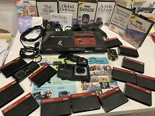 Sega Master System mit 15 Spiele, 2 Controller,Pistole,Poster,Switch