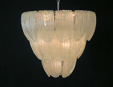 Snappy Murano Chandelier by Mazzega