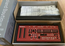 Roland SH-01A boutique Synthesizer RED Limited Edition FULLY BOXED superb Synth