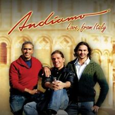 ANDIAMO - Love, From Italy, Trio, Volare, NEW CD