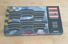 Carrera Digital 132 u. 124 Kurve 2/30 Set 6 Stück Neuwertig